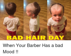 Bad Day For The Barber
