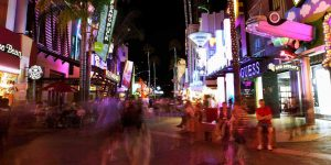 Bright Lights at Universal Studios Theme Park's CityWalk