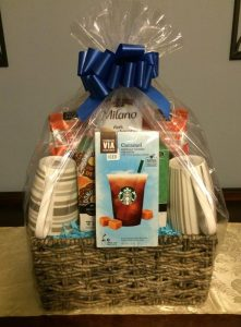 Coffee Lovers Gift Basket With A Bit Of Everything