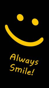 Keep A Smile Handy Always