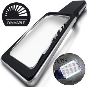 MagniPros 3X(300%) Magnifying Glass with