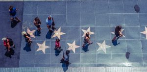 See the Stars in the Hollywood Walk