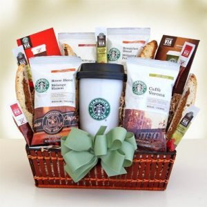 Starbucks Gourmet Coffee Gift Basket