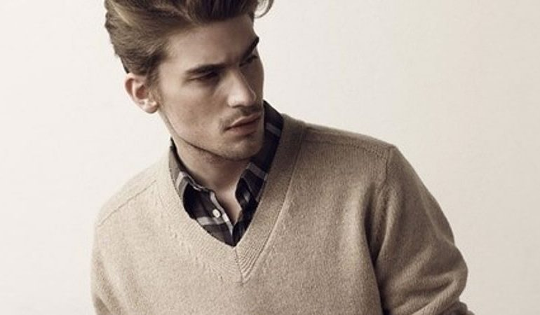 How To Wear V-Neck Sweaters